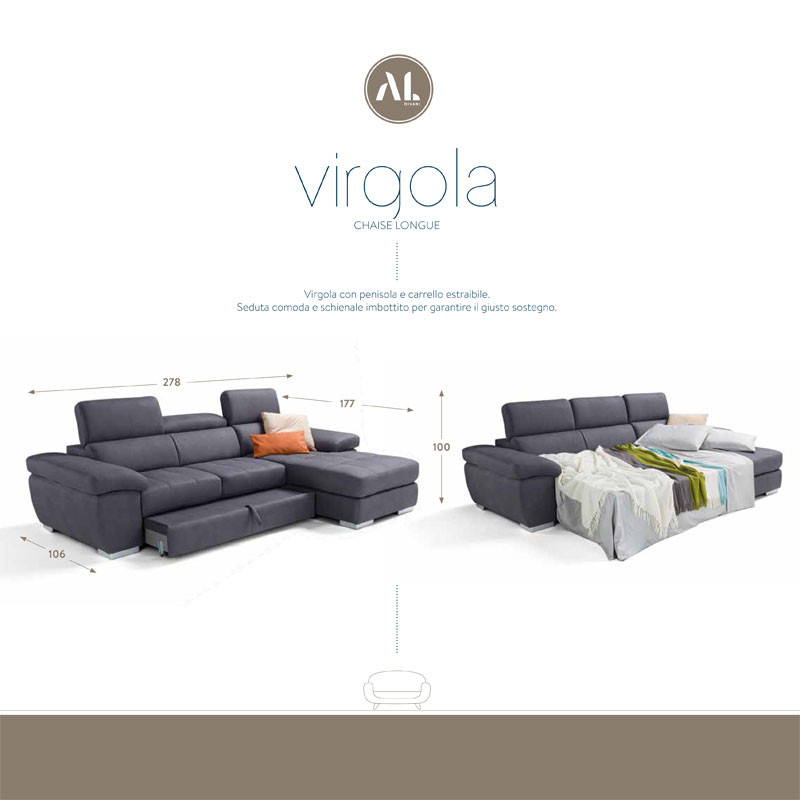 Virgola CHAISE LONGUE