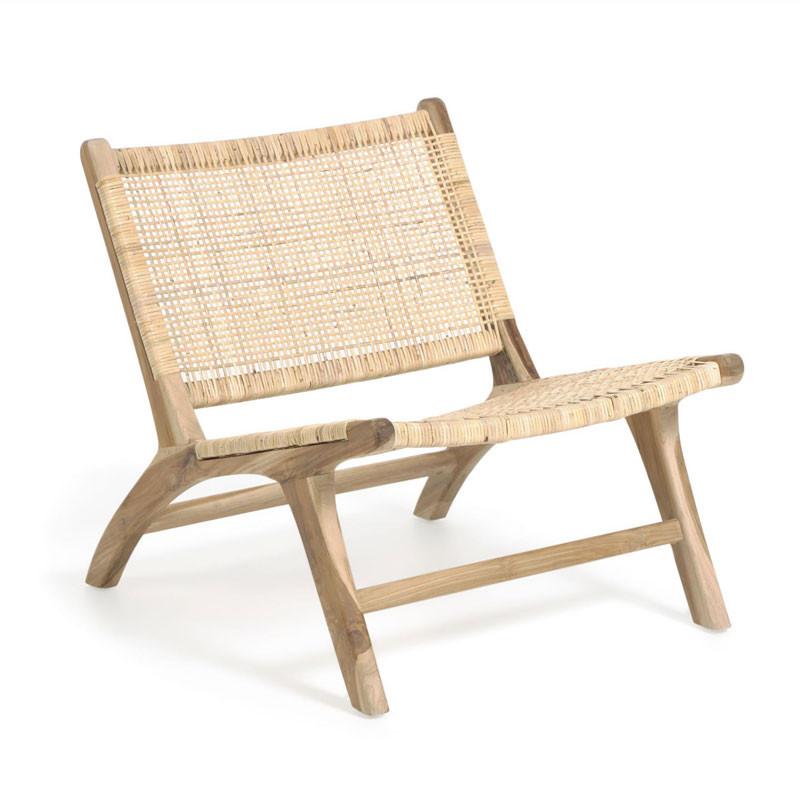 Beida - Poltrona in legno