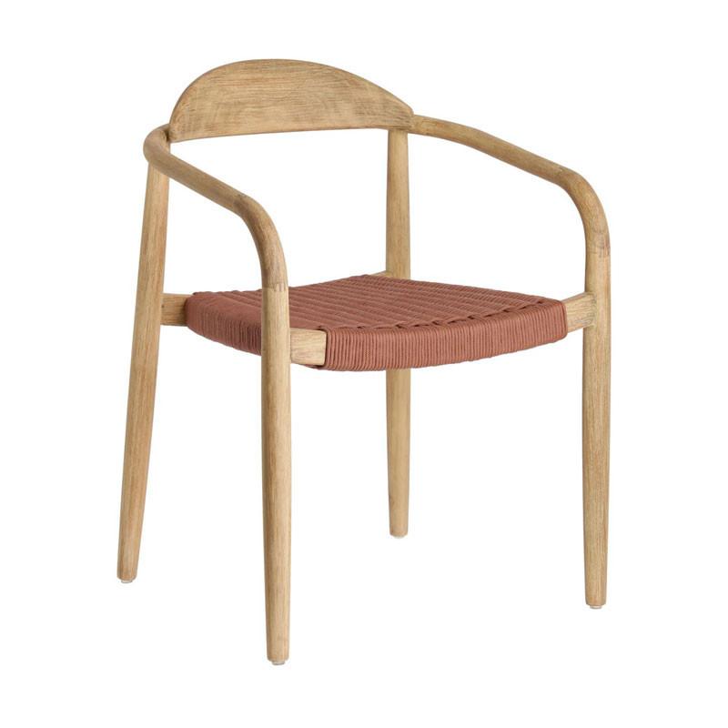 GLYNIS Sedia in legno massello
