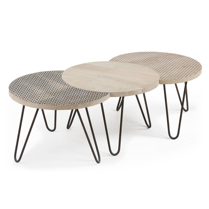 HOSS Set 3 tavolini